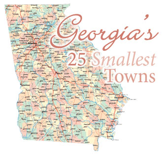 List of Georgia's Smallest Towns
